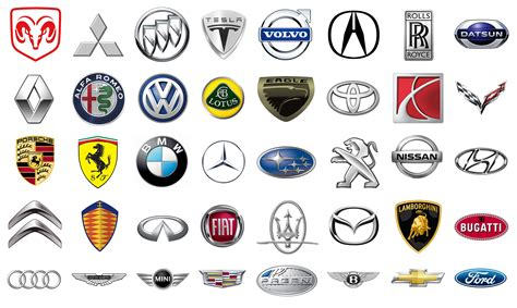 car logos car brands car symbols and emblems