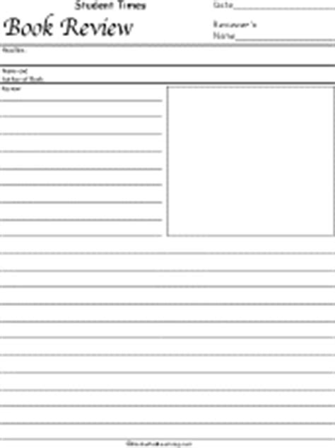 Newspaper Book Report Form by Writing A Book Review Template Ks2 Mosaic A Planning And Development Services Firm