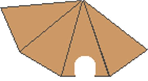 Teepee Craft Template by Tepee Craft Enchanted Learning Software