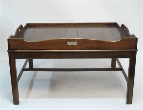 coffee table tray georgian mahogany butler s tray coffee table for sale at