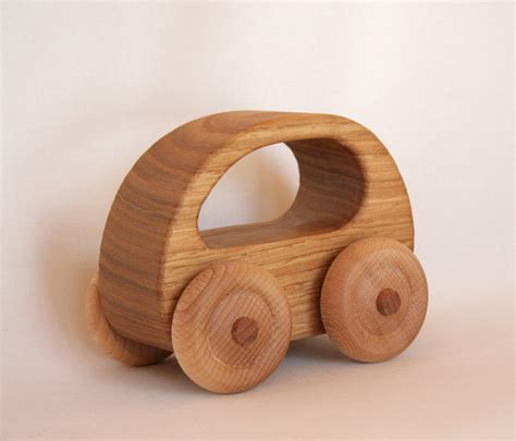 woodwork toys wooden car chestnut wood