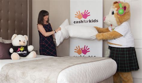 kids making out in bed pillow fight to fund children s beds aberdeen voice