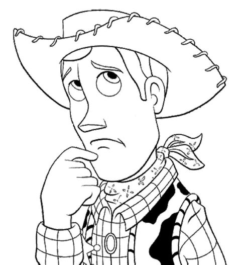 woody coloring pages coloring home