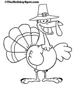 turkey to color thanksgiving coloring pictures