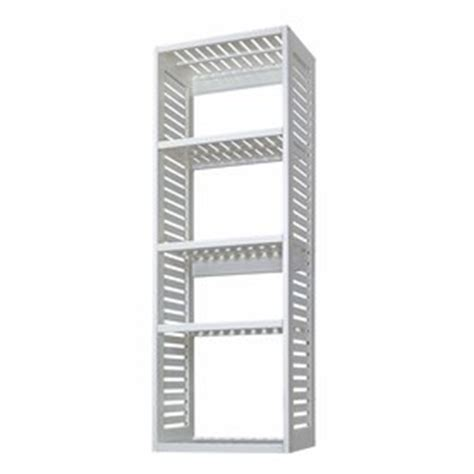 allen and roth ventilated wood tower shop allen roth 76 in white wood closet tower at lowes