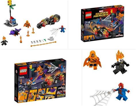Lego 76058 Ghost Riders lego 76058 heroes spider ghost rider team up construction set showed up on
