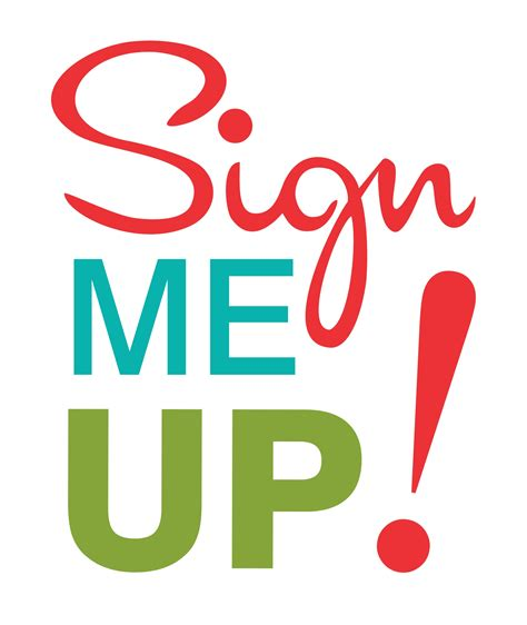 Me Me Me Signed - sign me up