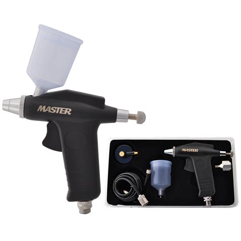 Master Adaptor Motif Cupit 3mm Master Trigger Airbrush Intermediate Set W 20cc Cup