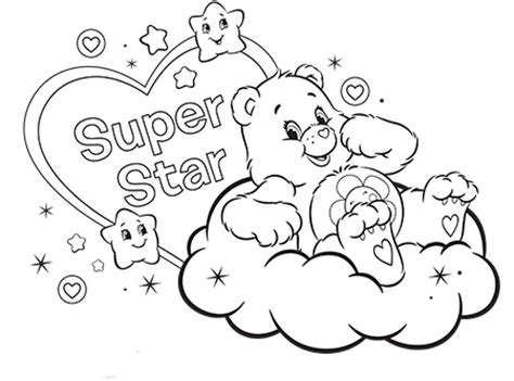 wonderheart bear coloring pages 64 wonderheart bear coloring page care bears