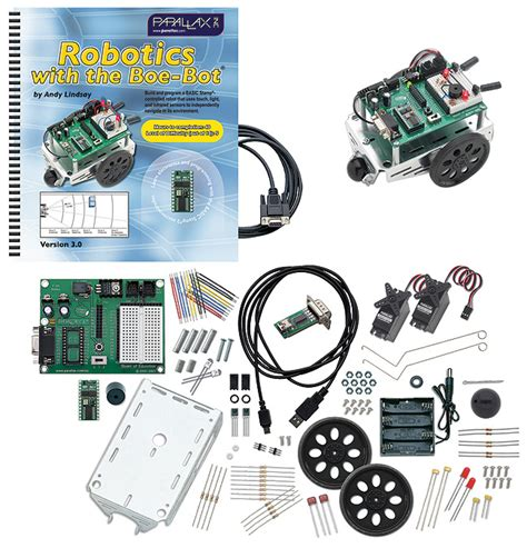 Adaptor Robot parallax boe bot robot kit serial with usb adapter and cable robotshop