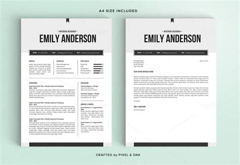 modern cv format doc 50 best cv resume templates of 2018 design shack
