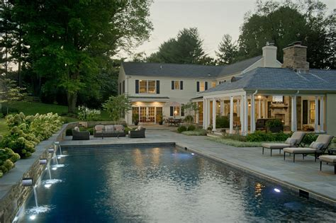 stone hill design associates fire features and functionality among hot outdoor living