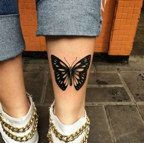 butterfly leg tattoos 35 breathtaking butterfly designs for