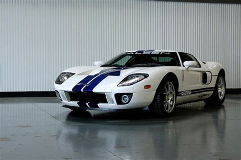 steve saleen s ford gt prototype up for auction