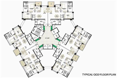 terminal floor plan oberoi springs andheri west mumbai apartment flat