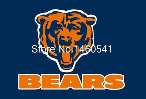 aliexpress buy chicago bears logo with wordmark flag