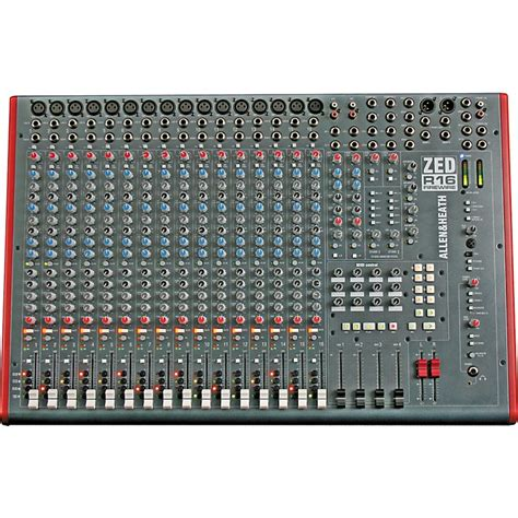 allen heath zed r16 16 channel firewire mixer musician