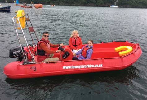 fishing boat hire cornwall fowey river hire kayak sup motorboat hire cornwall