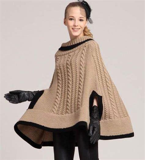 ponchos y boleros mujer 2015 11 modelos de ponchos patrones crochet manualidades y