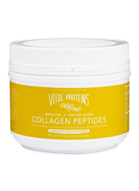 vital proteins collagen vital proteins vanilla coconut water collagen peptides