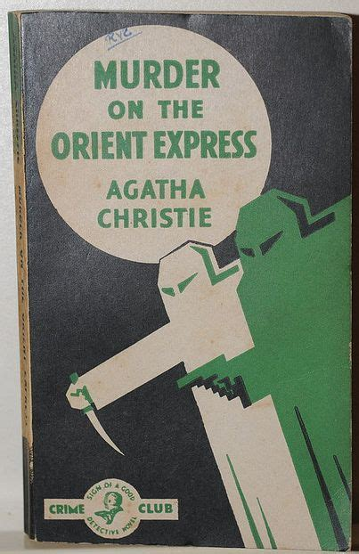 Novel Murder On The Orient Express Cover Agatha Christie 38 best agatha christe book covers images on