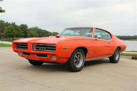 ram air turbo purchase used 1969 pontiac gto judge orange tribute 455