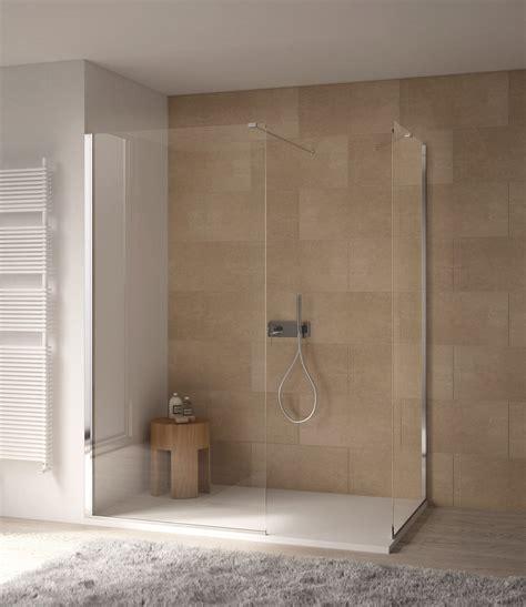 parete fissa doccia parete doccia divisoria fissa in cristallo linea trasparenza