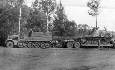 trailer german munitionstrager hummel on trailer sd kfz 9 famo world