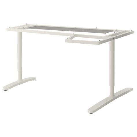 Table Top Ikea Bekant Underframe For Corner Table Top White 160x110 Cm Ikea