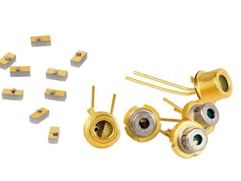 various laser diodes 850 nm pulsed laser diodes from laser components