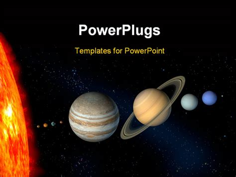 Planets And Sun From Our Solar System Digital Solar Lighting System Ppt