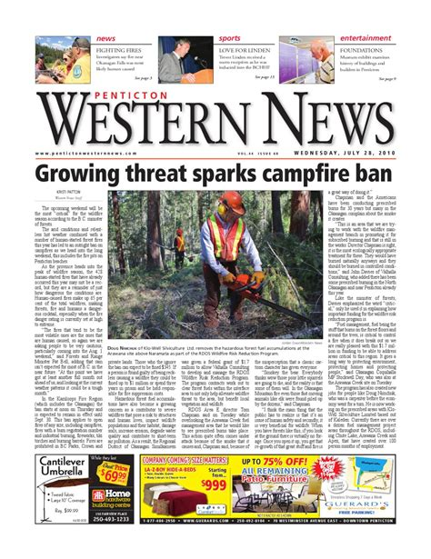 Threats For Sparks Critic by Penticton Western News By Penticton Western News Issuu