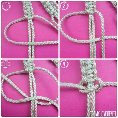 Macrame Net Pattern - diy macram 233 wall hanging tutorial escape in a boho