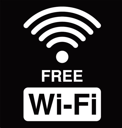 Free Wi Fi Logos Vector Design 01 Free Download Free Wifi Poster Template