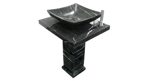 lavabo totem noir catgorie lavabo et vasque du guide et comparateur d achat