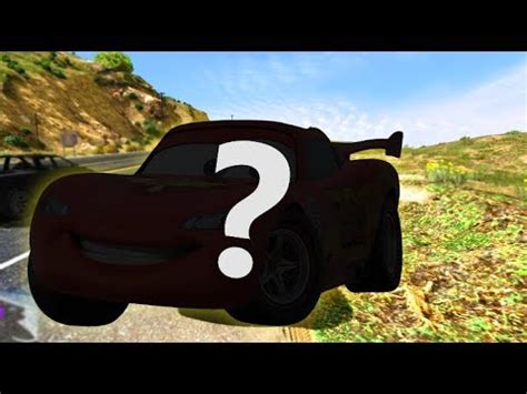 Secret Secret Mcqueen cars 3 secret lightning mcqueen car in gta 5