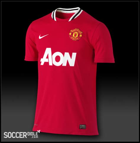 manchester united home kit 2011 2012 nike football shirt