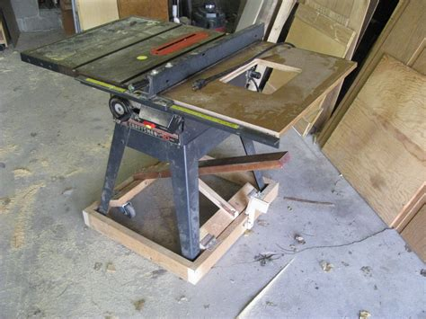 table saw mobile base table saw mobile base plans plans diy free two