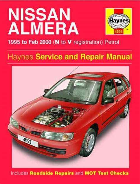 service and repair manuals 1995 nissan sentra lane departure warning nissan almera pulsar n15 1995 2000 haynes owners service repair manual 1844250539