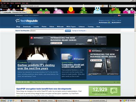 firefox themes christmas firefox holiday and winter themes page 3 techrepublic