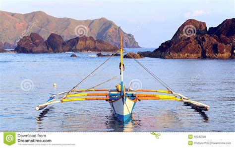 small boat engine philippines philippines fishing boat stock photo image 40047228