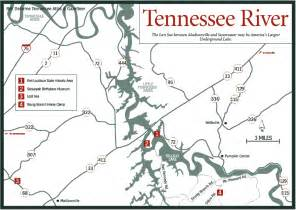 Tennessee River Map by Sherpa Guides Tennessee The Tennessee Mountains