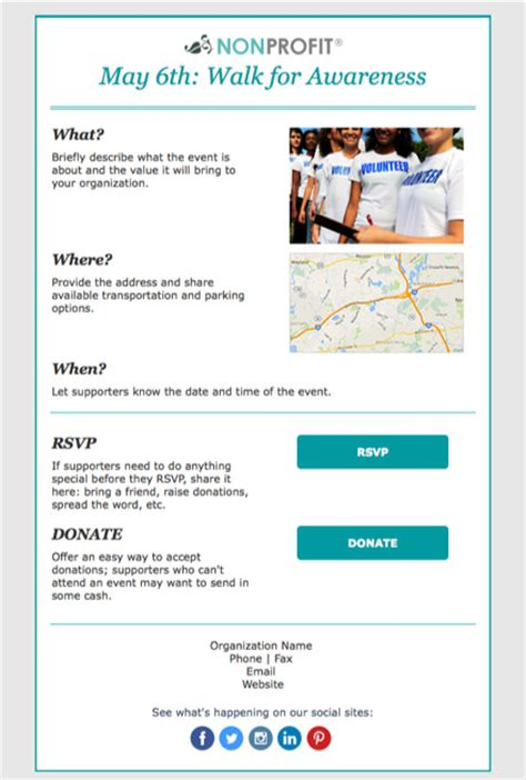 rsvp template for event event invitations constant contact