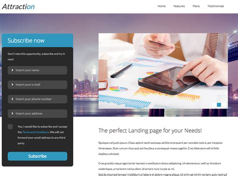 Real Estate Lead Generation Website Templates Gen Landing Page Free Lead Generation Website Lead Generation Website Template