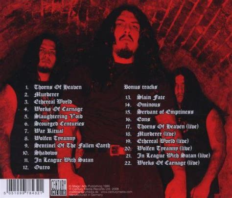 Cd Krisiun Works Of Carnage krisiun works of carnage cd opus3a