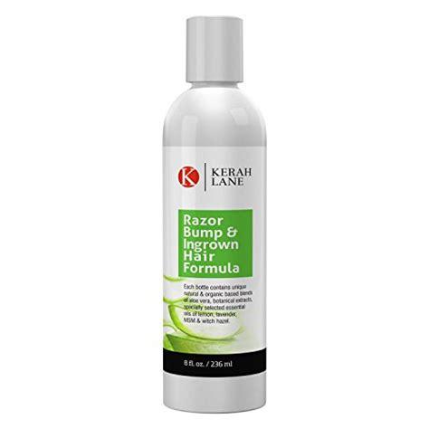 women s ingrown hair razor bump treatment sle kerah lane organic razor bump ingrown hair formula 8 oz