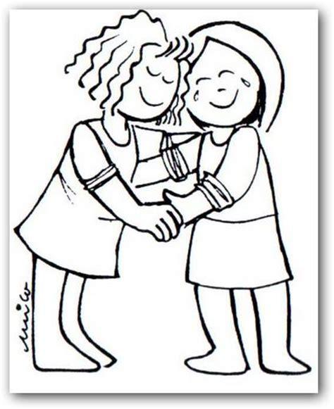 imagenes de amor y amistad en dibujos coloreando amigos en el d 237 a del amor y la amistad