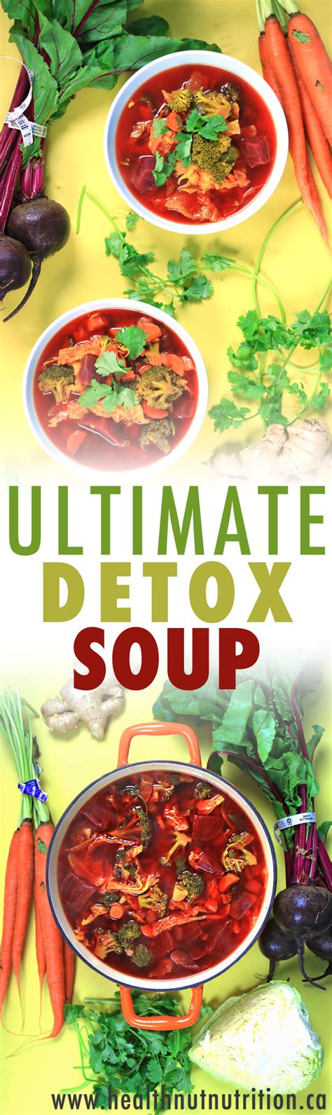 Ultimate Nutrition Vegetable Greens Detox by The Ultimate Detox Soup Healthnut Nutrition