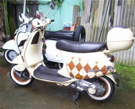 Modifikasi Vespa Px Retro by Vespa Scooter Modification Collections All About Photo