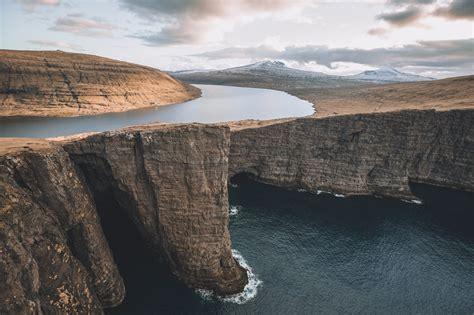 nature landscape water faroe islands wallpapers hd